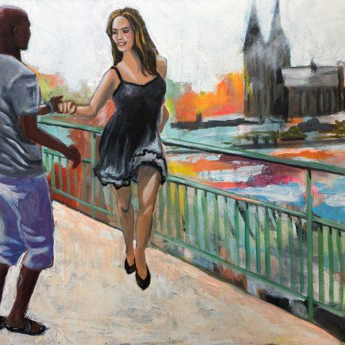 Untitled, 60 x 80 cm, Acryl auf Leinwand