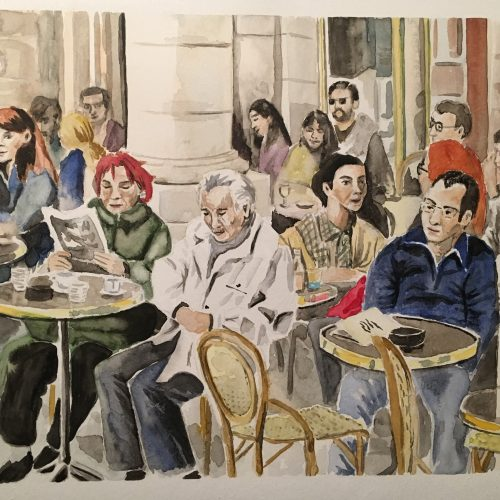 Untitled, 30 x 40 cm