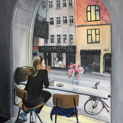Intermezzo, 100 x 100 cm, Acryl auf Leinwand, sold/verkauft