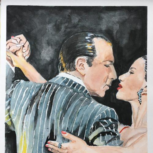 Untitled, 30 x 40 cm, Aquarell auf Papier, sold/verkauft