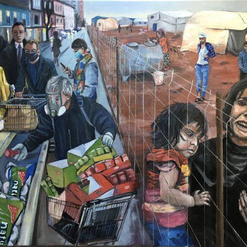 Human Dignity, 90 x 110 cm